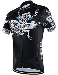 Amur Leopard Maillot Cyclisme Respirant Séchage Rapide Manches Courtes Costumes Vélos