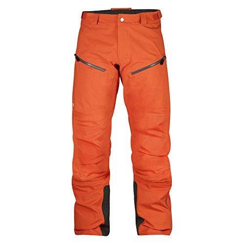 Fjällräven Bergtagen Eco-Shell Trousers - hokkaido orange