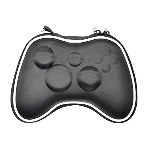 iprotect Schutztasche für Xbox 360 Remote Controller Case Box in schwarz (Remote Ipod Monster)