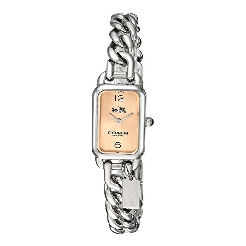 Beige Dial Ladies Analog Casual Quartz Coach Watch Ludlow 14502720