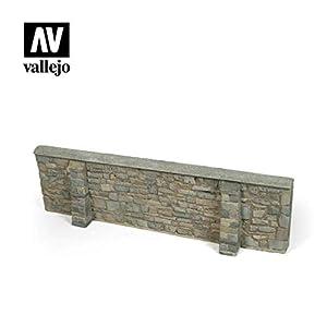 Vallejo SC106 1/35 - Muro de la Ciudad Ardennen (24 x 7 cm)