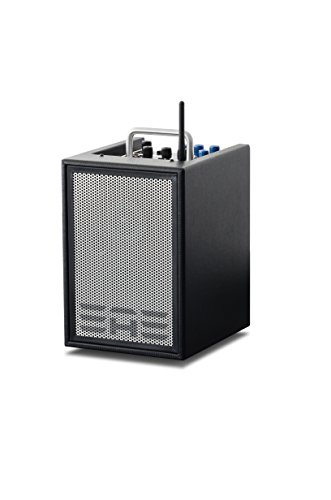 Elite Acoustics Engineering A1-4-CFB 3-Kanal Akustik Gitarren Verstärker Schwarz
