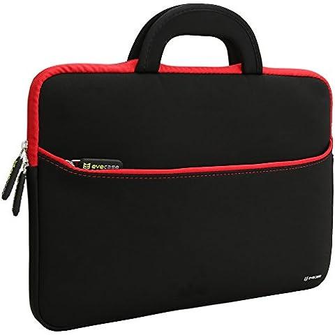 Evecase Maletín para Laptops de 13.3 - 14