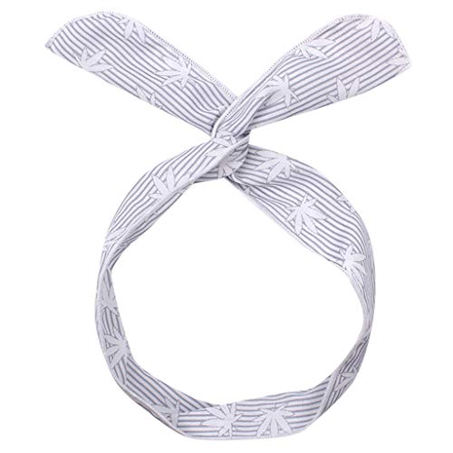 Crylee Frauen süße gedruckte Haarschmuck Cross Wire Haar Bandbreite geraden Streifen Metall Haarband Schwarz Spring Wave Haarband Multi-Style Unisex Flexible Stirnband Zubehör für Frauen - Toast Mann Kostüm