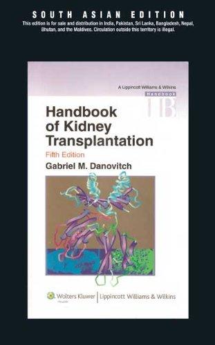 Handbook of Kidney Transplantation 5/e