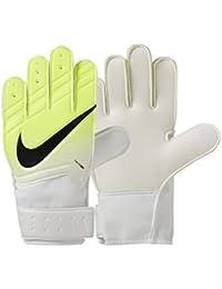 Nike GK JR Match FA16 Guantes de Portero, Unisex niños, Blanco (White/Volt/Black), 8