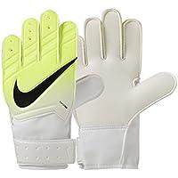 Nike GK JR Match FA16 Guantes de Portero, Unisex niños, Blanco (White/Volt/Black), 6