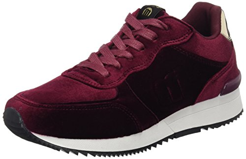 MTNG Attitude Stela, Sneakers Basses Femme, (Velvet Burdeosmirror Oro), 37 EU