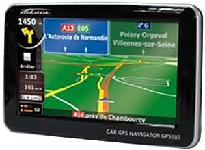 Takara GP55BT GPS Nomade avec Cartographie Navteq écran 4,3'' Bluetooth Europe