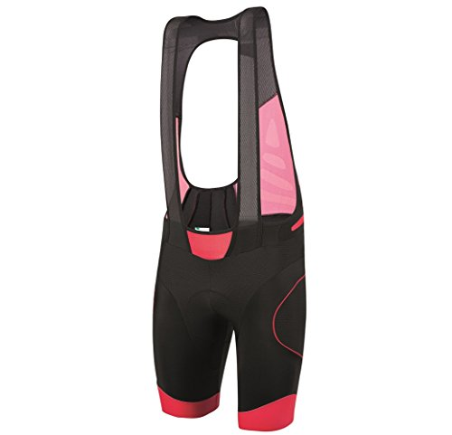 SANTINI FASHION SP 1073 NAT BROB   SANTINI B ROB AERO NAT PAD BIB SHORTS RED XLARGE
