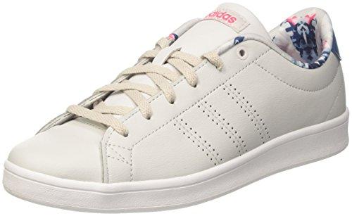 big sale f9e58 bf700 adidas Advantage Cl QT W, Sneaker a Collo Basso Donna, Beige (Grey One