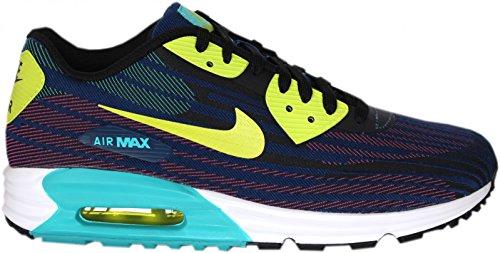 Nike Air Max Lunar90 Jcrd, Chaussures de running adulte mixte Bleu