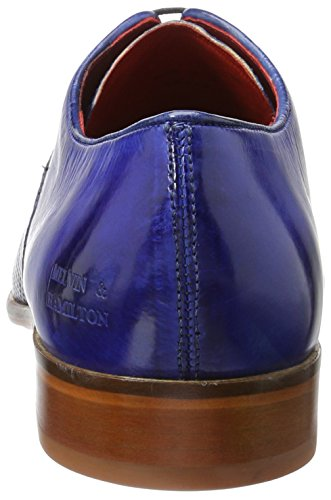 Melvin & Hamilton Herren Toni 15 Oxford Mehrfarbig (Crust Perfo/Crust China Blue/Morning Grey, China Blue LS NAT.)