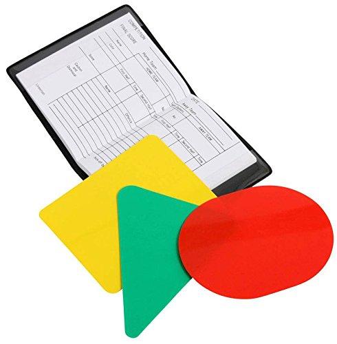 Reece Hockey Schiedsrichter Karten Set - Black, Größe Reece:NO SZ