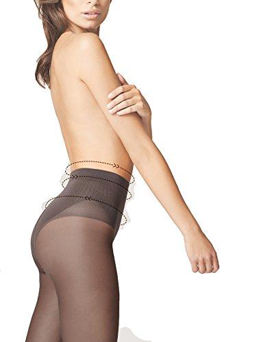 Medias modellanti reductoras Bikini Fit 40DEN M5113flor Claro, natural M