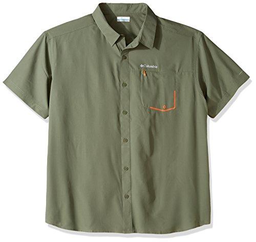 Columbia tweested Creek kurz Sleeve Shirt, Herren, tweested Creek Zypresse