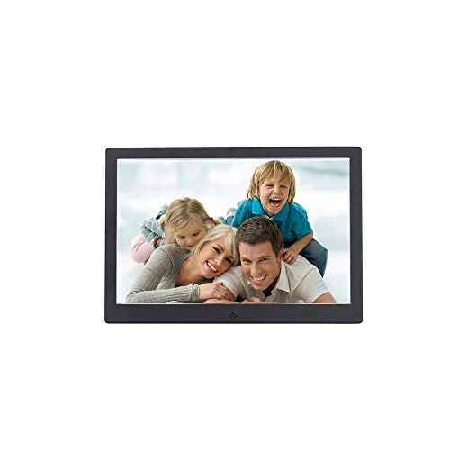 HXZM 12 Zoll Metall Digitale Foto-Frame-Video-Werbemaschine HD elektronische Regal LCD Werbealbum (Zoll 12 Regale Metall)