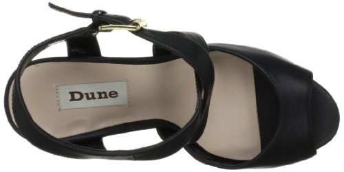 Dune Glacier, Damen Pumps Schwarz (Black)
