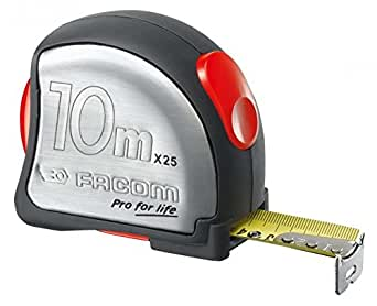 Ruban Facom 897,1025 Metrica Cajetin Inoxydable 10 M X 25 Mm