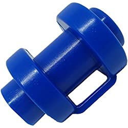 BM-Global Lot de 8embouts de protection pour barres de filet de trampoline, Ø25mm, bleu