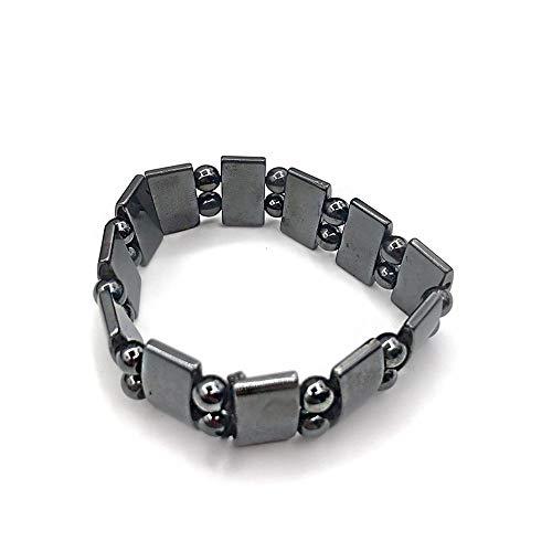 Swtylife Magnetisches Gesundheits-Armband für Gewichtsverlust Handschnur Abnehmen Therapie Acupoints Anti-Cellulite Armband Magnetische Gesichtshebewerkzeuge Jf