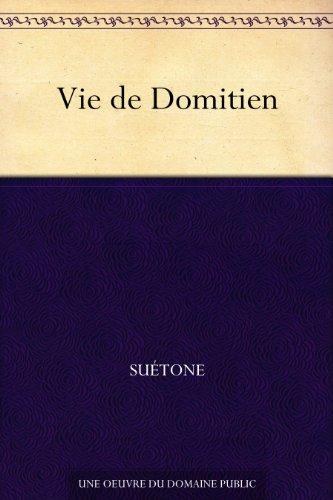 Couverture du livre Vie de Domitien