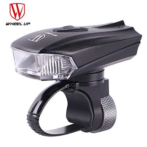 JKLEUTRW LED FahrradbeleuchtungLED USB Intelligenter Sensor Wiederaufladbare Fahrradlampe wasserdichte Bequeme Installation