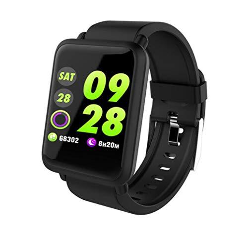 STEAM PANDA Smart Watch Sport Monitor Armband mit Herzfrequenzmesser und Blutdruck Blutsauerstoffsäure Wasserdicht IP67 240 * 240 Auflösung Bluetooth 4.1