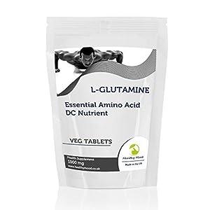 L-Glutamine 1000mg Essential Amino Acid 30 Vegetarian Tablets Pills Health Food Supplements Nutrition HEALTHY MOOD