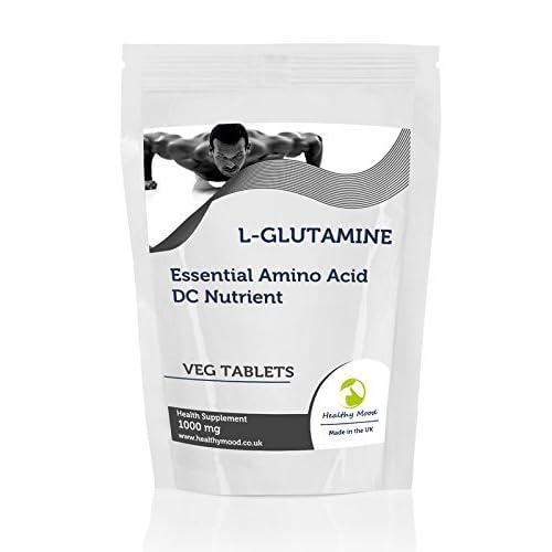 L-Glutamine 1000mg Essential Amino Acid 30 Vegetarian Tablets Pills Health Food Supplements Nutrition...