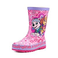 Paw Patrol Kids Pink Wellington Boot