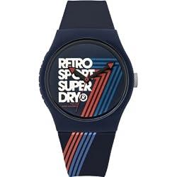 Mens Superdry Urban Retro Watch SYG181U