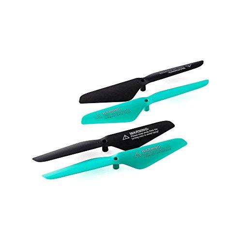 PNJ Lot de 4 hélices pour Drone DR-Smart HD