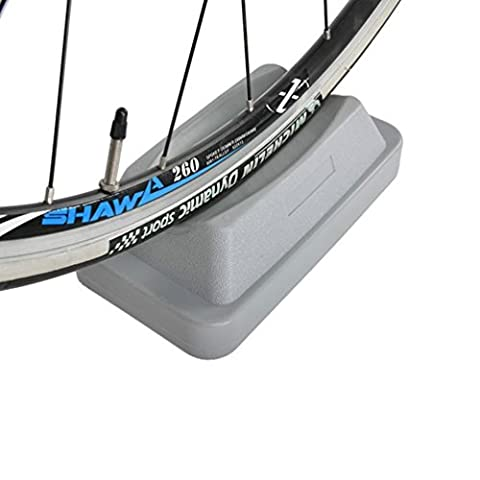 RockBros Bike Front Wheel Riser Block for Indoor Bicycle Trainer Truing Stand Bicycle Wheel Maintenance Gray