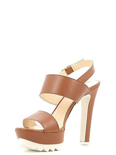 GRACE SHOES M21 Sandalo tacco Donna Bianco