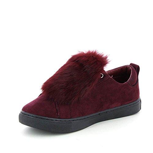 Go Tendance, Damen Sneaker Rot