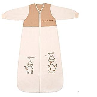 Saco de dormir manga larga para bebé de Schlummersack, 2,5 de nivel de TOG, 90cm, 6–18meses, con jirafa