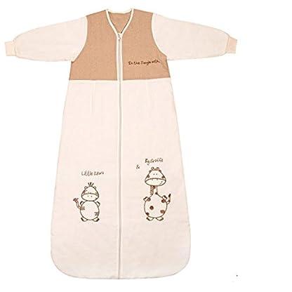 Slumbersac – Saco de dormir con diseño de jirafa y cebra para bebé (para todo el año, 2,5 tog, tallas de 0-6 años)