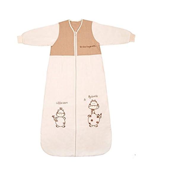 Slumbersac Saco dormir bebé invierno manga larga aprox. 2,5 Tog – de dibujos – varias tallas: de 6 a 18 meses
