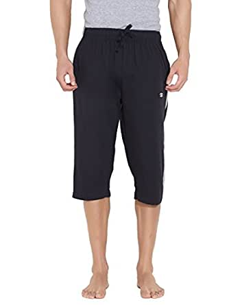 Dixcy Scott Men's Cotton Capri Shorts (Un159 _Dark Blue _X-Large)
