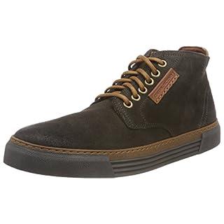 camel active Herren Racket 20 Hohe Sneaker, Grau (Dk.Grey (Grey) 12), 49 EU