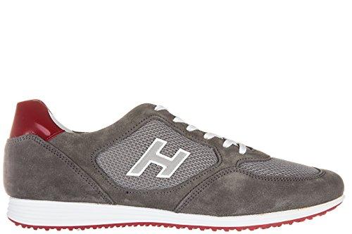 hogan-chaussures-baskets-sneakers-homme-en-daim-h205-olympia-h-flock-gris-eu-44-hxm2050u670c5c888j