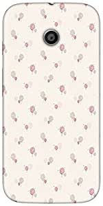 Snoogg Splash Flower Patternsolid Snap On - Back Cover All Around Protection ...