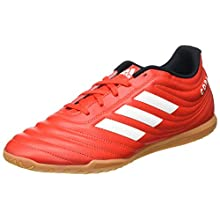 adidas Men's Copa 20.4 in Track Shoe, Active RED/FTWR White/CORE Black, 8 UK