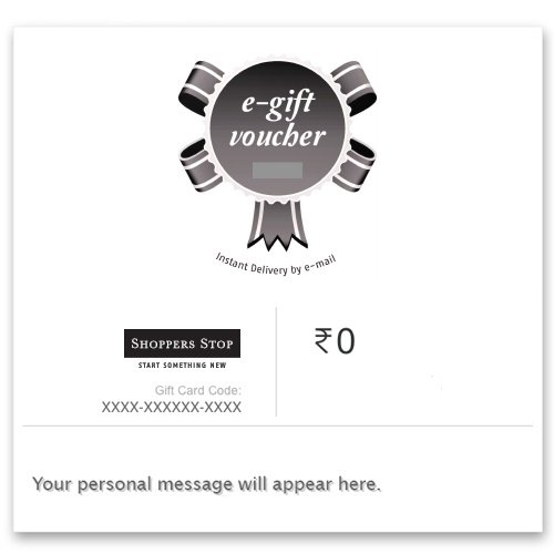 Shoppers Stop - Instant Voucher