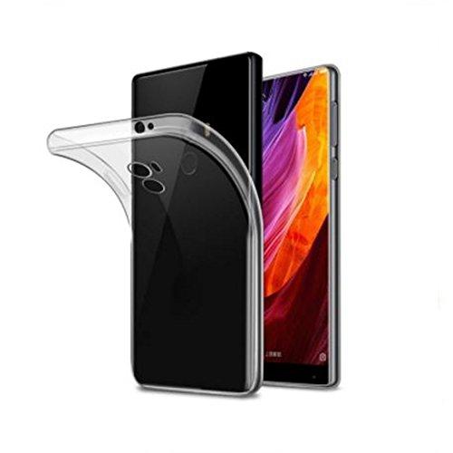 "Todo Phone Store - Funda Silicona 100% Transparente Lisa Gel TPU para XIAOMI MI Mix 4G 6.4"""