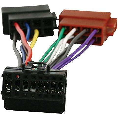 HQ ISO-PION16P03 adaptador de cable - Adaptador para cable (1x Radio, 2x Car, Multi)