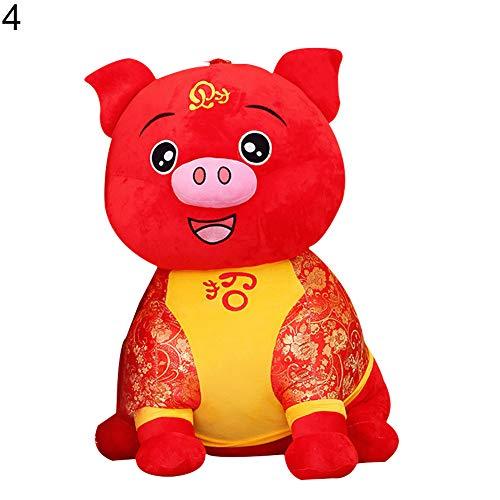 (xMxDESiZ 2019 Schweinchen für Neujahr, Porzellan, Kostüm, Party-Dekoration, Wohlstand, Geschenk, Spielzeug)