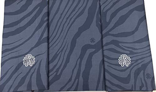 Roberto Cavalli Bettbezug für Doppelbett Perkal aus Reiner Baumwolle, extra Made in Italy