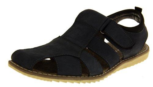 Footwear Studio, Sandali sportivi uomo black/blue/brown/cappuccino/grey/navy/navy blue Blu (Navy Blue (Slingback))